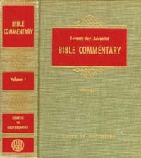 SDA Bible Commentary #  1 - Genesis-Deuteronomy