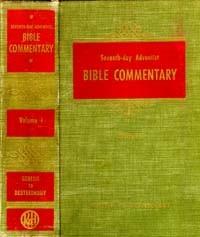 SDA Bible Commentary #  1 - Genesis-Deuteronomy
