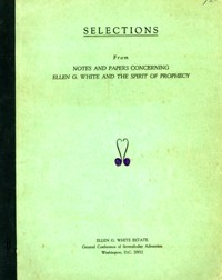 Selections from Notes and Papers Concerning EGW...
