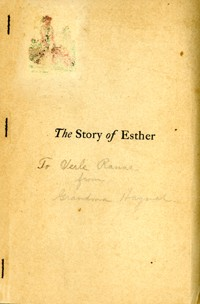 Story of Esther, The