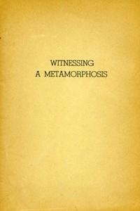 Witnessing a Metamorphosis