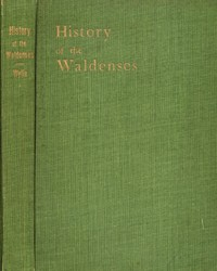 History of the Waldenses, The
