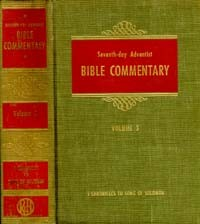 SDA Bible Commentary #  3 - 1 Chronicles-Song of Solomon