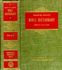 SDA Bible Commentary #  8 - Bible Dictionary -X
