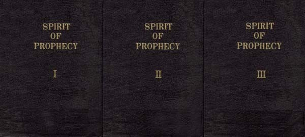 Spirit of Prophecy in Zipper Case (Set of 3)